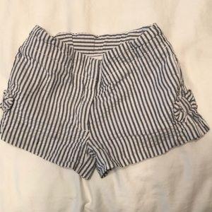 J Crew Girls Seersucker Shorts